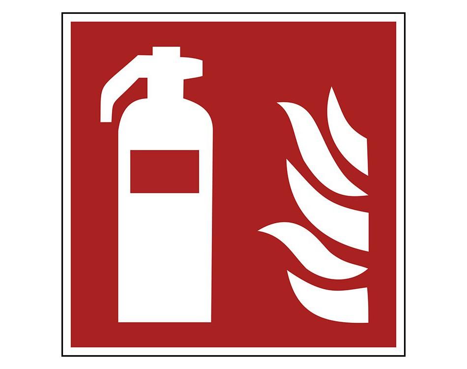 Pictogramstickers Brandbestrijdingstekens