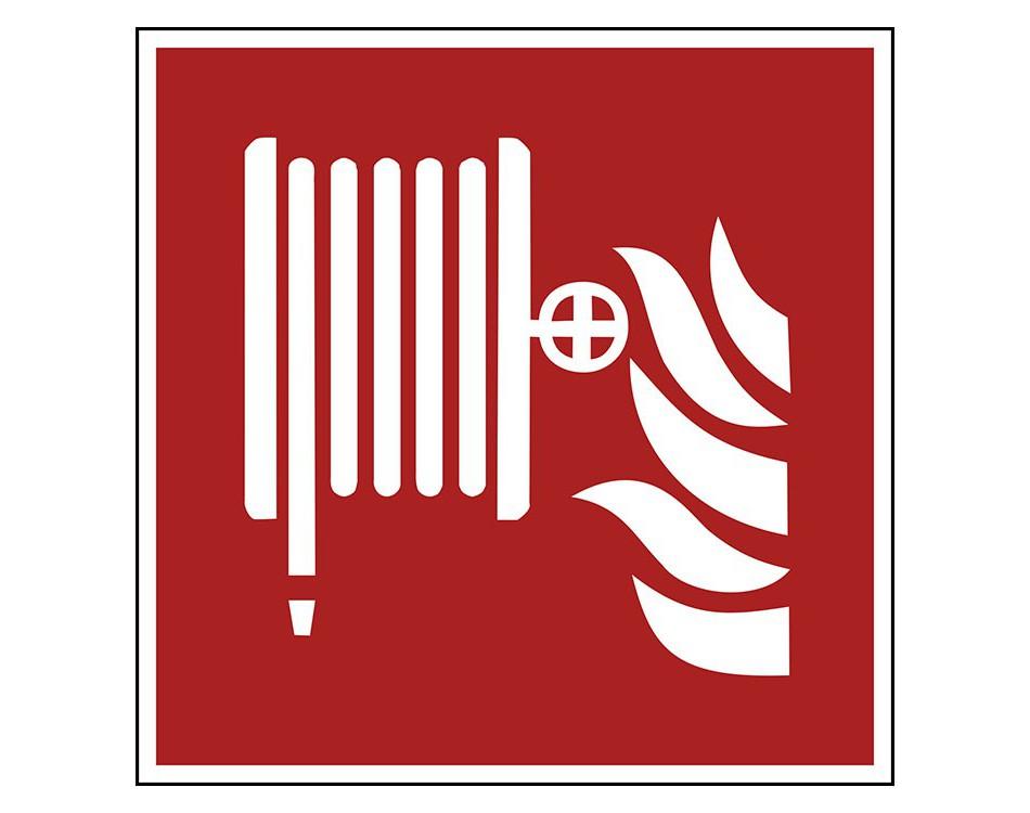 Pictogramborden Brandbestrijdingstekens