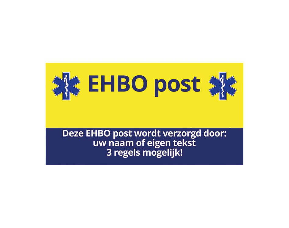 EHBO post inrichting