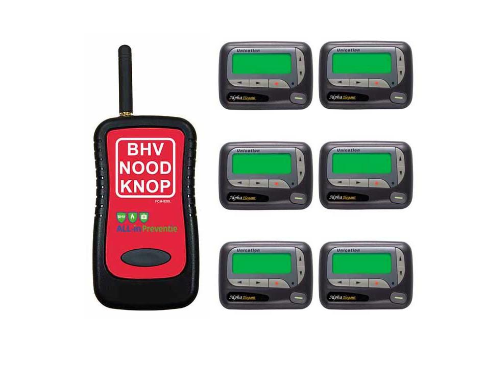 Gemakkelijk en snel uw BHV-ers alarmeren? Dat kan!